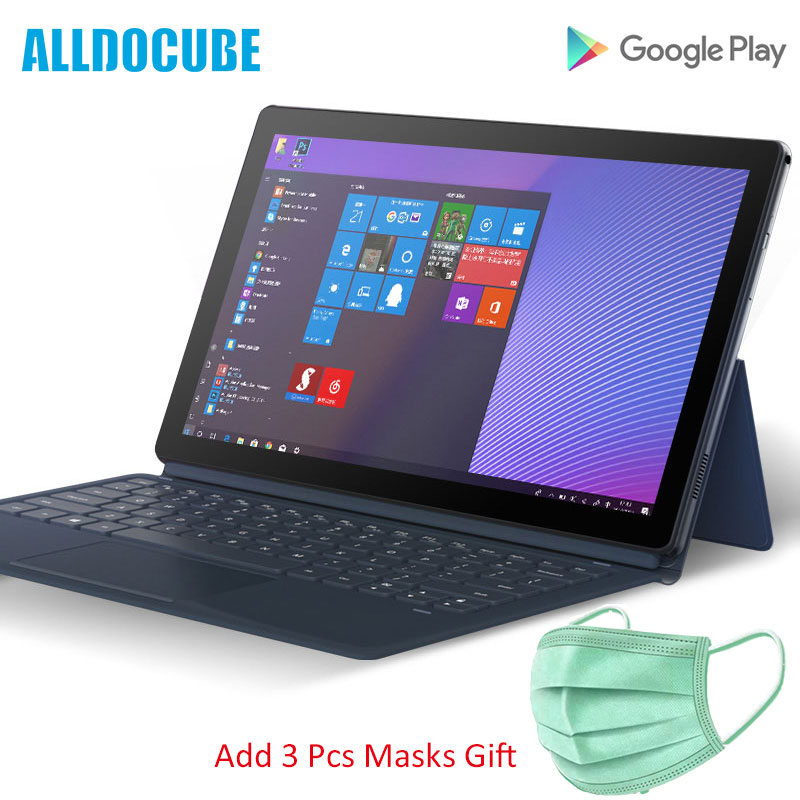 Alldocube Knote5 11.6 Inch Intel Tablet Windows 10 Gemini Lake N4000 4GB+IPS Display Tablet PC With Keyboard Add Masks Gift
