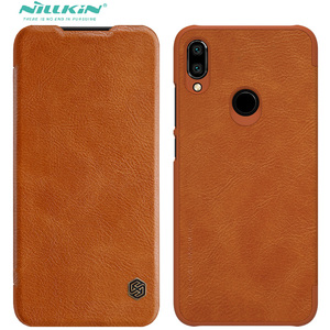 Image 1 - For Xiaomi Redmi Note 9 Pro Max Pro 8 8t Case Flip Cover Redmi8 Nillkin Qin Leather Book Redmi Note9 Pro Redmi Note 9s Funda Bag