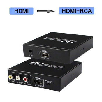 ezcap 272 anolog video recorder av capture analog to digital video recorder audio video input av hdmi output to micro sd tf card HDMI TO CVBS Video Converter 4K HDMI to HDMI Video Audio Converter with AV RCA CVBS and L/R output