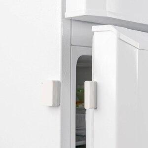 Image 4 - Xiaomi เซ็นเซอร์ประตูหน้าต่างขนาดกระเป๋า Xiaomi Smart Home ชุดปลุกทำงานร่วมกับ GATEWAY Mijia Mi Home APP
