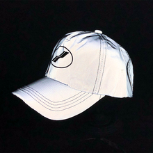 2020 Summer New Night Running Baseball Cap Men Reflective Fisherman Hat Empty Top  Parent Child Travel Sunscreen Female