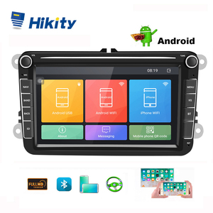 Hikity Android 8.1 Car DVD Multimedia player 2 Din GPS Car Radio 8''Audio For VW/Volkswagen/Golf/Polo/Passat/SEAT/leon/Skoda(China)