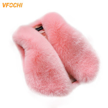 VFOCHI New Girl Faux Fur Waistcoat 12 Color Warm Vest Autumn Winter baby Jacket Coat Sleeveless Outwear