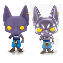Funko Pop Dragon Ball Z 120 Beerus Special Color Version Vinyl Figure Collection Model Toys(China)