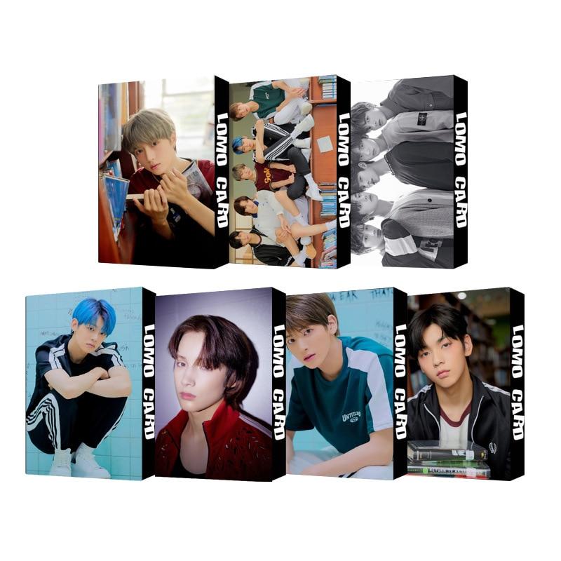 30 шт./компл. Kpop TXT Фотокарта группа Одиночная ломо-карта Высокое качество HD печать для коллекции поклонников K-pop TXT плакаты фотокарты