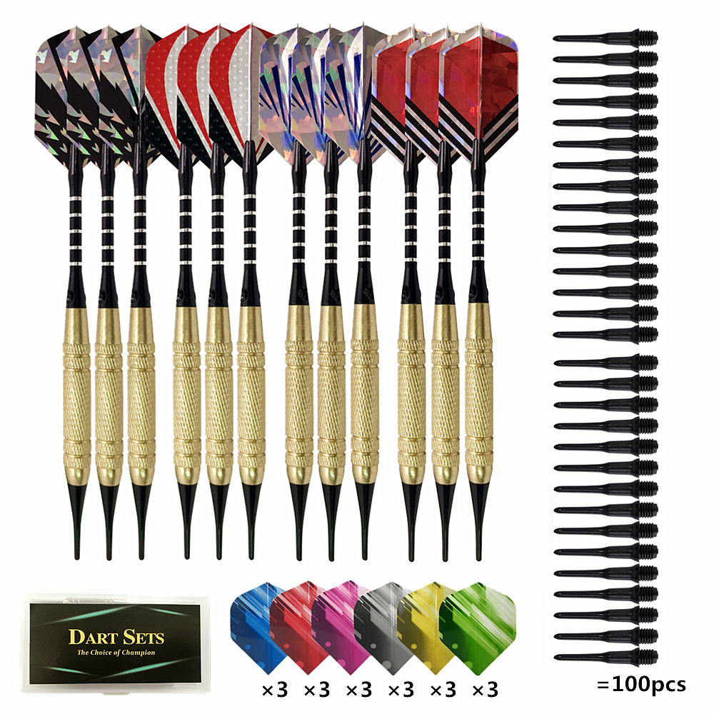 Soft Darts 12PCS Professional Electronic Tip Dardos Electronic Dartboard Games