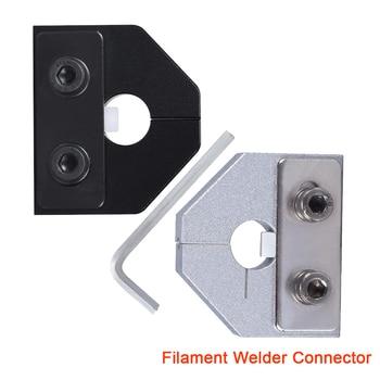 New Filament Welder Connector 1.75MM/3.0MM For 3D Printer PLA ABS Flexible Filament Ender3 PRO Consumable Welding Aluminum Block