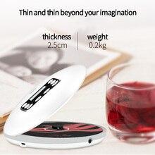 FFYY HOTT 711T Bluetooth Tragbaren CD Player mit Akku Led anzeige, persönliche CD Walkman zu Genießen Musik und Audio