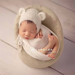 Newborn Baby Sofa Posing Chair Seat Photography Props Infant Studio Shooting Accessories Small Sofa 0-3 Months Soft
