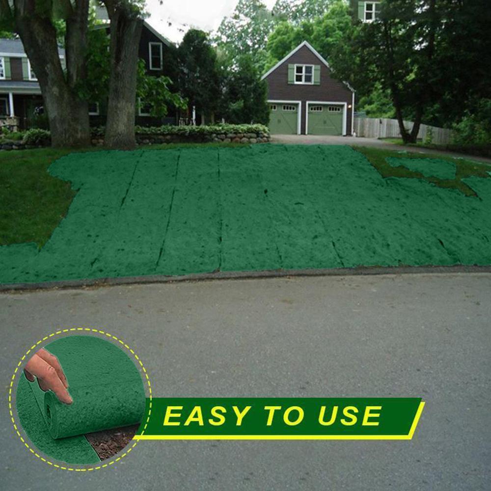 Горячий 3% 2A0,2M биоразлагаемый трава мат овощи семена прорастание тепло коврики подушка экологический биоразлагаемый трава коврик дропшиппинг
