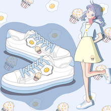 Amy and Michael Lovely Fashion Girls Canvas Shoes Students B