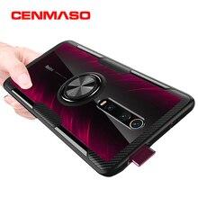 For Xiaomi Mi 9T Redmi K20 Pro Case Transparent Back Cover For Xiaomi Mi 8 Lite 9 SE Magnetic Car Holder For Note 7 5 Pro Case