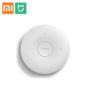 Image 1 - Heißer Original Xiaomi Transmitter Fernbedienung für Mijia Philips LED Decke Lampe Integrierte Temperatur und Feuchtigkeit Sensor