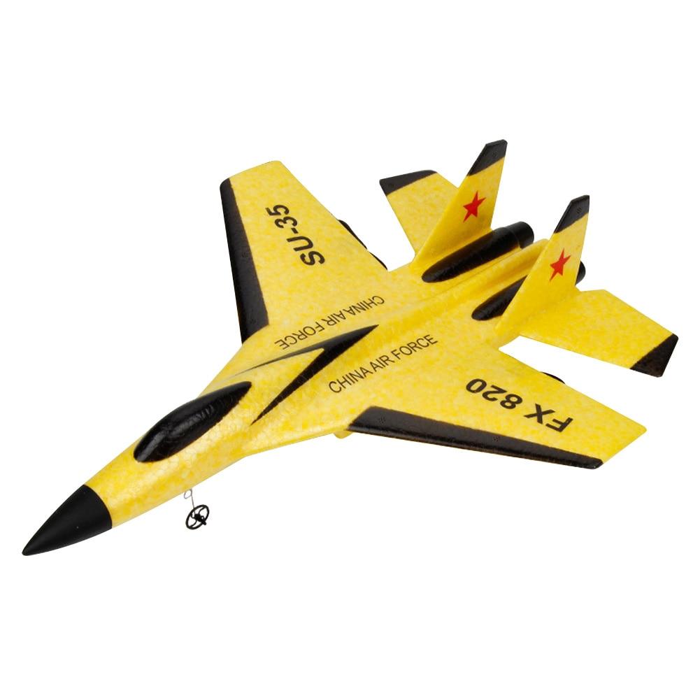 SU-35 2.4GHz Powerful Motor Electric EPP Foam 4 Direction Birthday Gift Kids Toy Indoor Outdoor RC Airplane Glider Model