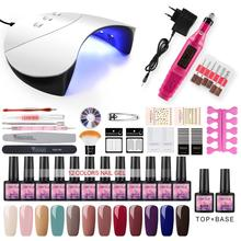 COSCELIA New Manicure Set UV LED USB Lamp Dryer Nail Extension Gel Set Tools For Manicure Machine Nail Art Nail Polish Gel Kits gel polish nail art tools kits 36w uv led nail dryer lamps uv gel polish polish gel manicure machine set nail file remover tools
