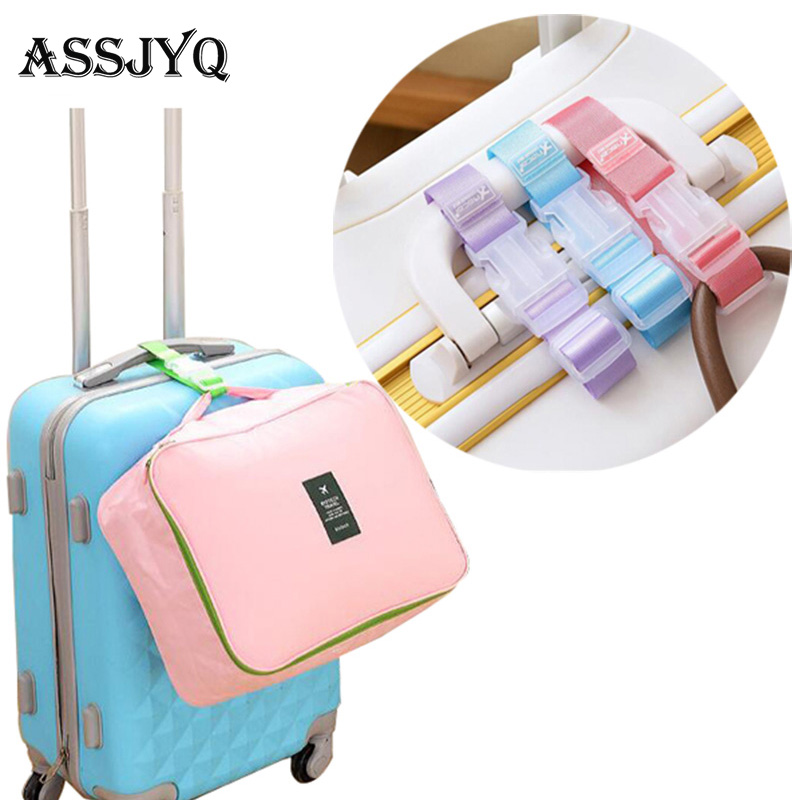 Adjustable Strong Luggage With Luggage Accessories Hanging Buckle With Suitcase Bag With Anti-lost Anti-theft Protective Belt
