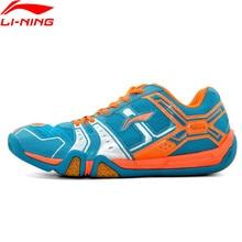 Li-Ning Men Saga Light Daily Badminton Shoes Training Breathable Anti-Slip Sneakers LiNing Sport Shoes AYTM085 AYTR041