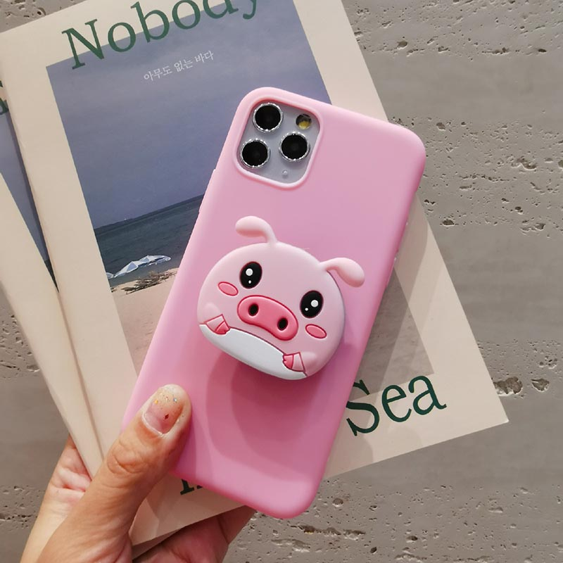 <font><b>3D</b></font> Cartoon Soft phone case for <font><b>Xiaomi</b></font> Mi A1 A2 8 Lite 9 <font><b>SE</b></font> Mix 2 2S Max <font><b>3</b></font> Mi Play Pocophone Poco F1 CC9 CC9e Holder cover image