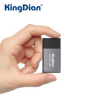 KingDian External SSD 120GB 250GB 500GB Portable SSD 1tb 2tb External Hard Drive USB3.0 External Solid State Drive - DISCOUNT ITEM  26 OFF Computer & Office