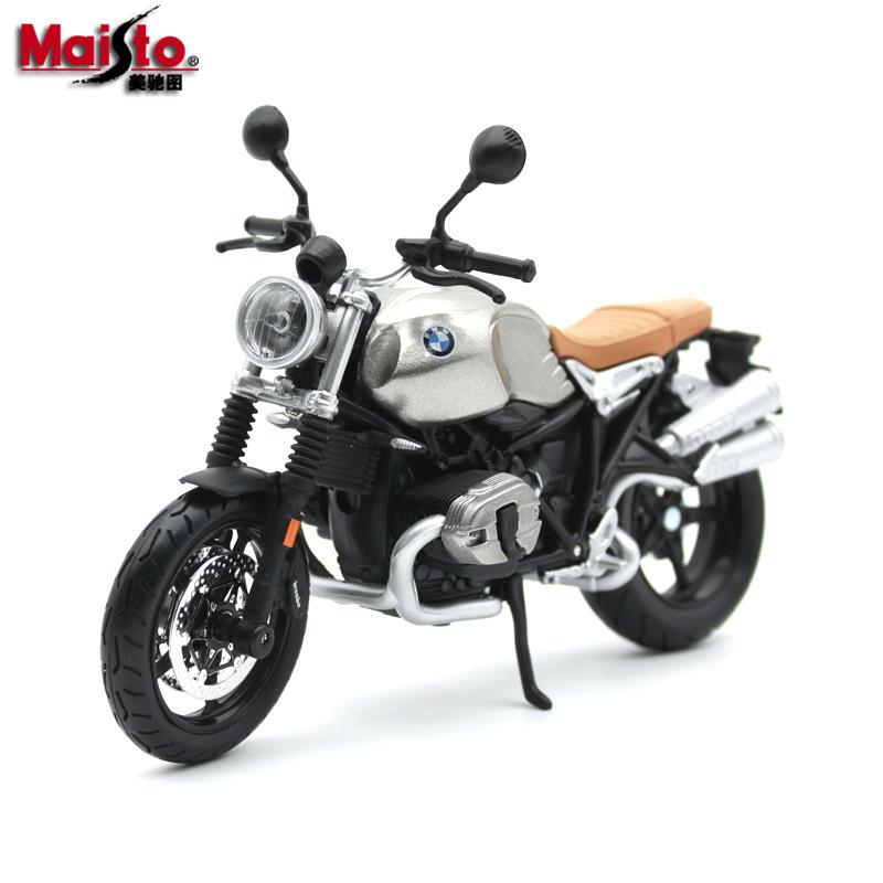 Maisto 1:12 4 Style Motorcycle Bike Model Toy For BMW R NineT Scrambler S1000RR HP2 SPORT R1200 GS Moto Toy With Box