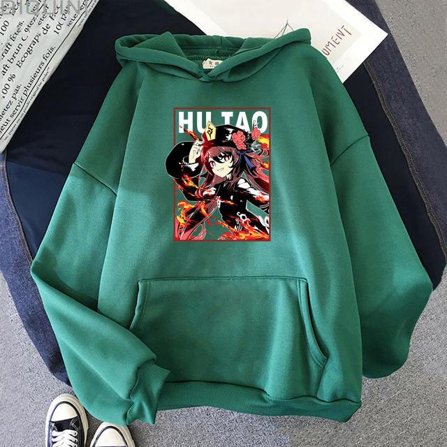 HU TAO GENSHIN IMPACT THEMED HOODIE