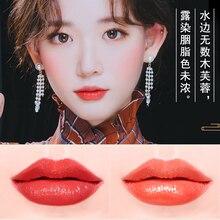 6 lipsticks Chinese style lipstick set tube  durable moisturizing waterproof non discoloring matte genuine lipstick  organizer