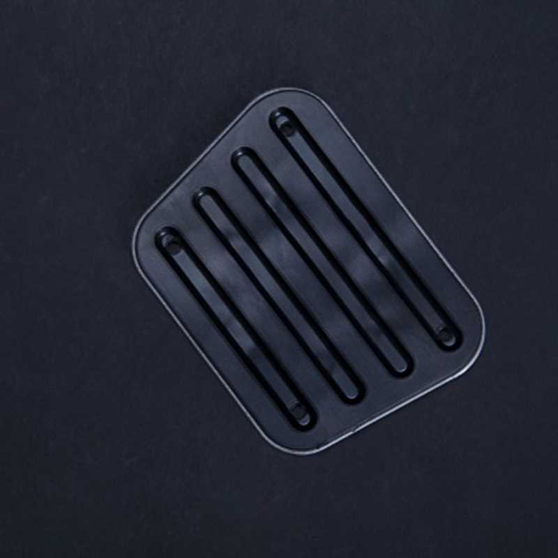 2 sztuk Kart pedał akcesoria do modyfikacji antypoślizgowe pedał hamulca przepustnicy aluminium pedał Karting pedał pedał kontrola prędkości Conver