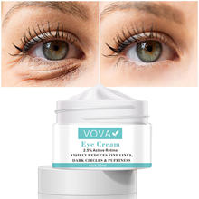 Instant remover sacos de olho creme retinol creme anti inchaço gel círculos escuros atrasos envelhecimento desaparece rugas firmando iluminar a pele