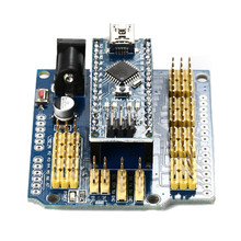 Nano I / O Expansion Shield For Arduino UNO R1 Nano 3.0+ Nano V3.0 ATmega328P TE276(China)