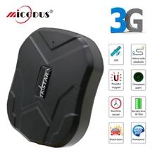 Tkstar 3g gps трекер Автомобильный gps трекер автомобиль TK905 gps локатор водонепроницаемый Магнит голосовой монитор длительное время ожидания бесплатное приложение