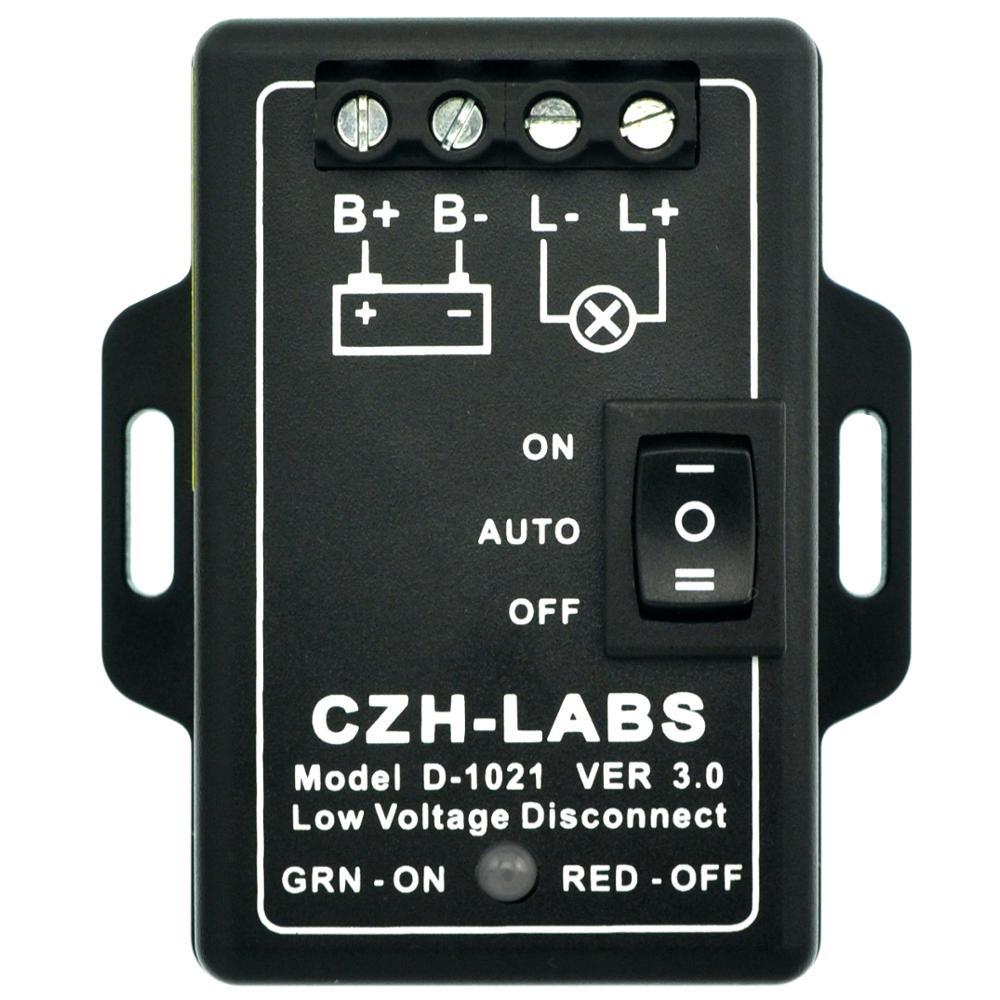CZH-LABS LVD Low Voltage Disconnect Module. (12V / 30Amp)