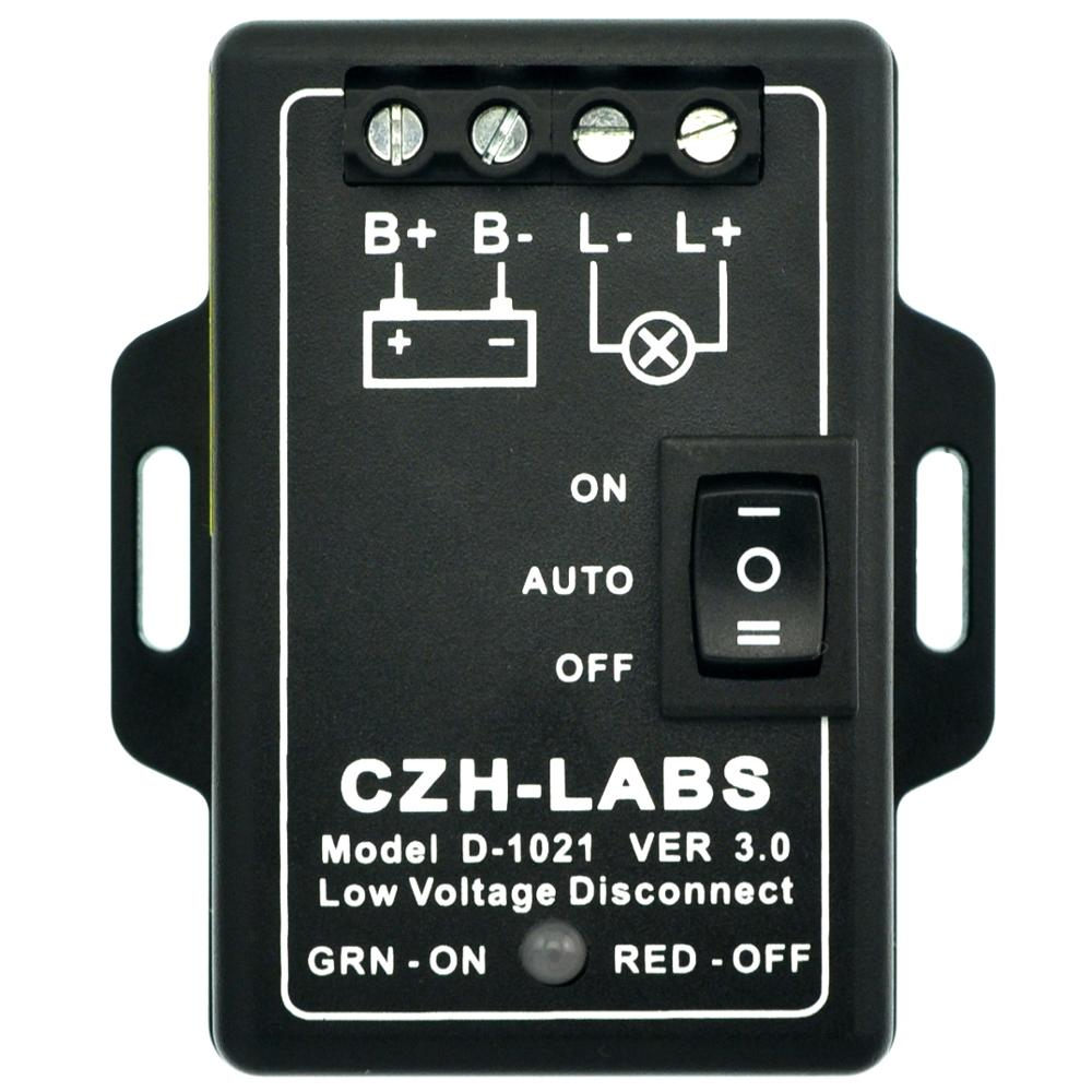 CZH-LABS LVD Low Voltage Disconnect Module. (24V / 30Amp)