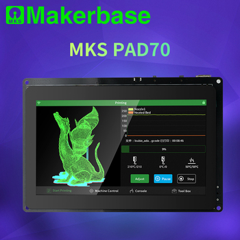 Makerbase MKS Pad7 capacitive smart display 7.0 inch Android Pad 3D printer parts gcode visualizer online slice remote p
