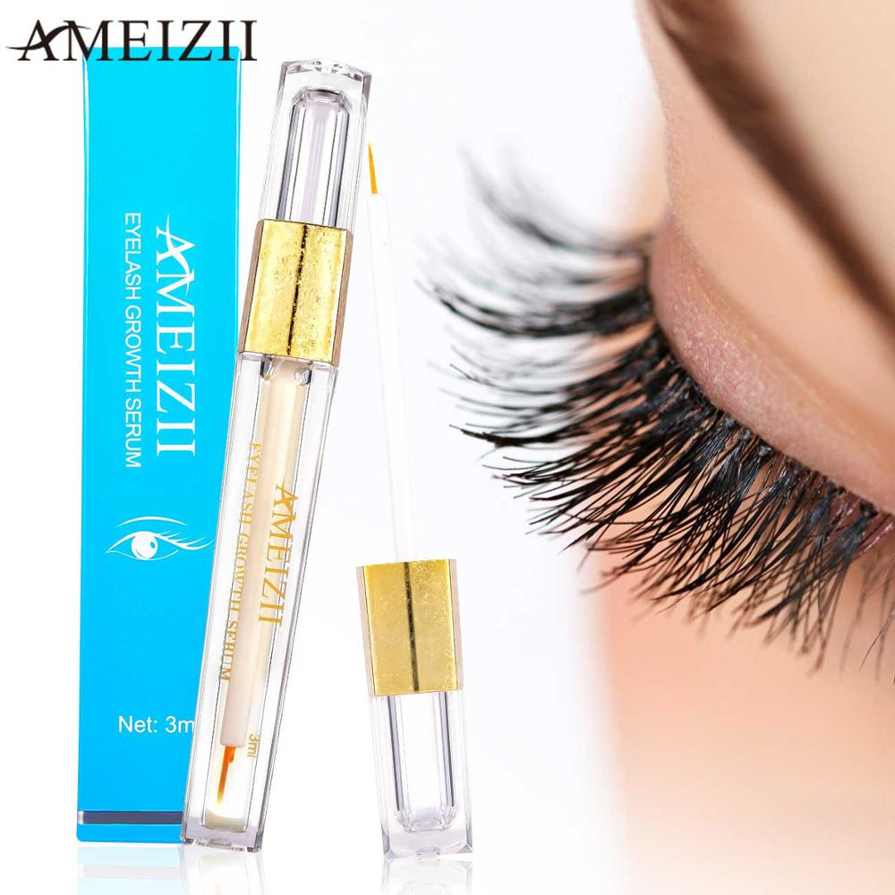 AMEIZII Eyelash Growth Eye Serum For Eye Lash Lift Longer Fuller Thicker Eyelashes And Eyebrows Enhancer Eye Care Treatment