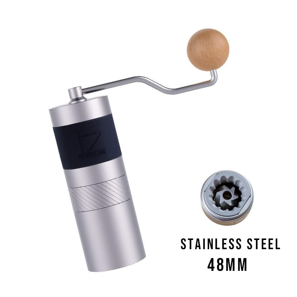 1zpresso JX/JE Series Manual Coffee Grinder Portable Coffee Mill Stainless Steel  48mm Burr