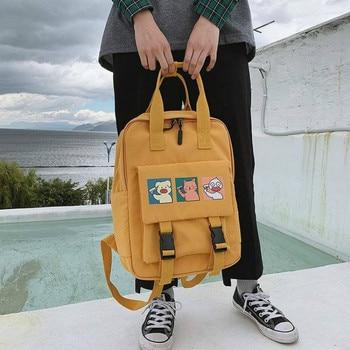 Cute School Backpacks Women Waterproof Backpack For Teenage Girl Nylon Lovely Cartoon Daily Travel Softback Mochila Escolar 2020