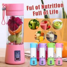 Wxb Portable Blender USB Mixer Mesin Juicer Smoothie Mini Food Processor Personal Blender Cup Jus Mesin Blender(China)