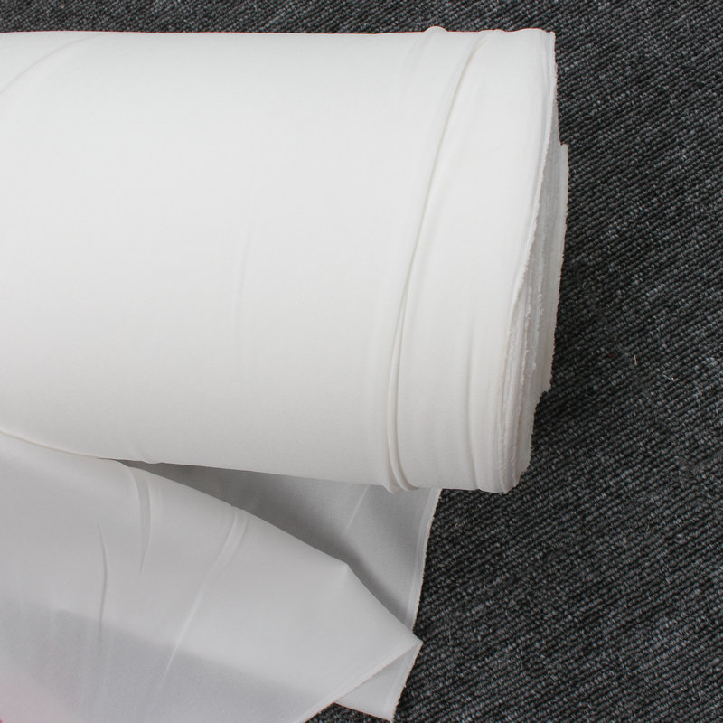 Эластичная трикотажная плавкая прокладка утюгом, белая, продается за метр