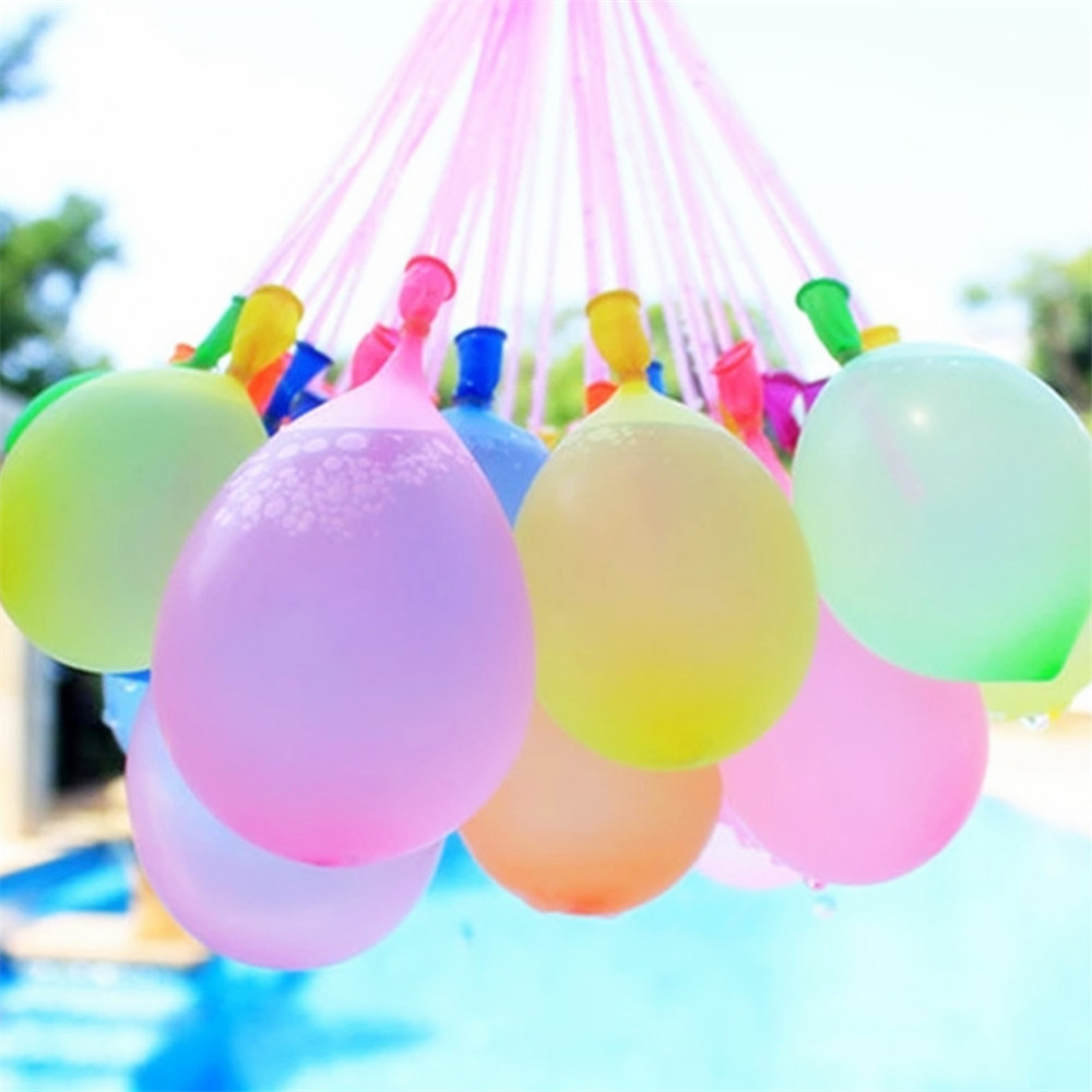 111pcs Water Balloons Funny Summer Outdoor Toy Balloon Bundle Water Balloons Bombs Toys For Children