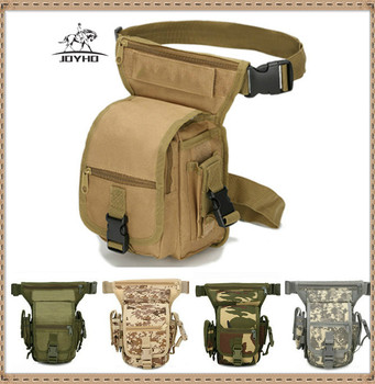 Tactical Drop Leg Bag Outdoor Sport Ride Accessories Belt Bag Army Hunting Waterproof Thigh Molle Leg Pouch Hiking Cycling Bag