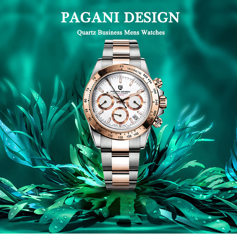PAGANI DESIGN 2020 New Brand Luxury Men's Watches Quartz Waterproof Watch Men Automatic Wristwatch Full Steel Clock Reloj Hombre