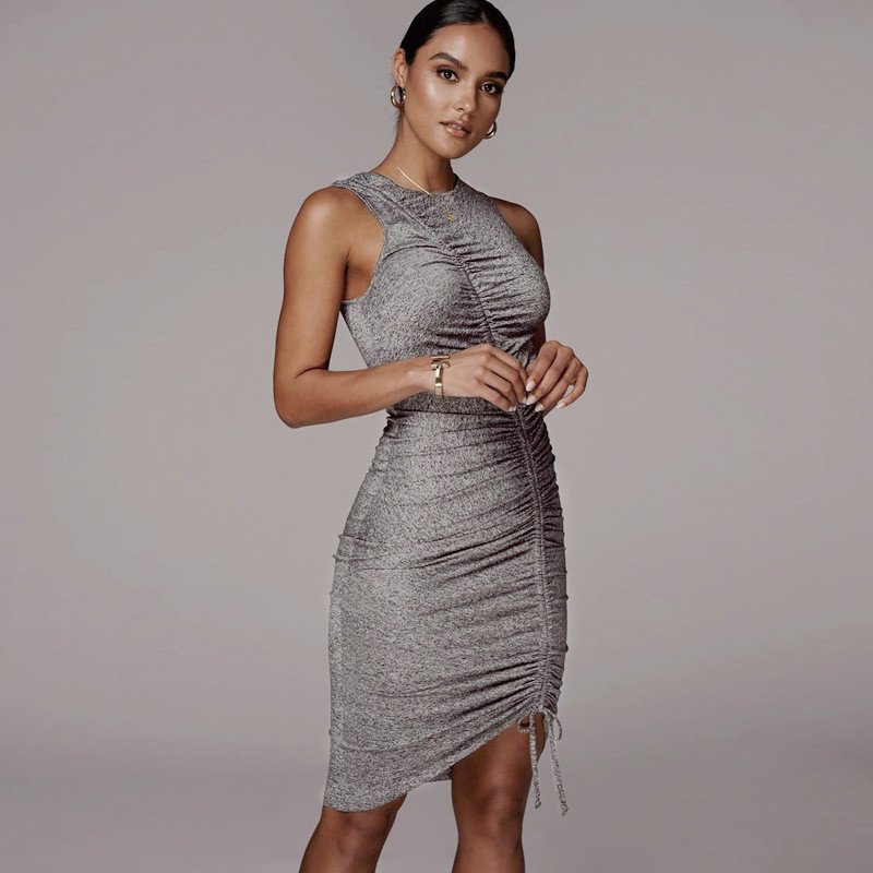 sleeveless mini short dress29