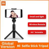 Xiaomi Mi Selfie Stick originale Mini treppiede Bluetooth Selfie Stick con telecomando Wireless 360 rotazione portatile per smartphone