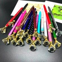 500 PCS/ชุดปากกาเพชรอัญมณีขนาดใหญ่คริสตัลของขวัญเพิร์ลปากกาวันหยุดของขวัญ DHL ฟรีจัดส่ง