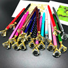 500pcs / batch of diamond pen large gem crystal gift pen pearl gift pen Holiday gift DHL free delivery