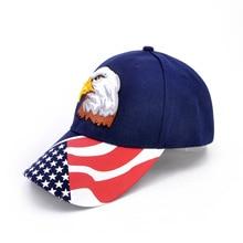 Hot sale Eagle baseball cap casual Korean version hat shade cotton USA hats
