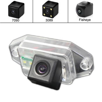 for TOYOTA Land Cruiser Prado J90 J120 J150 LC90 LC120 LC150 LC200 Night Vision Car Reverse Backup Parking Rear View Camera HD image