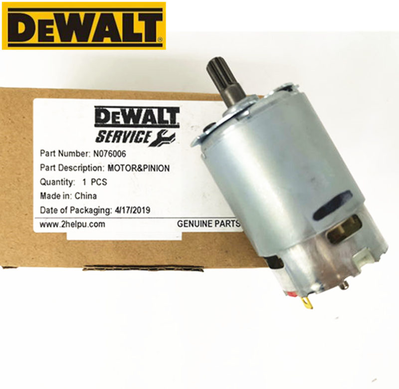 7 teeth Motor CCW15 Parts N076006 N021162 for DeWALT 10.8V DCF815S2 DCF813 DCF815 DCF805 DCF813S2 Cordless Drill