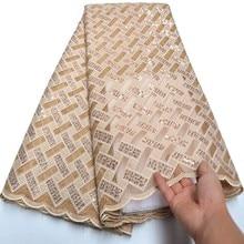 2020 son fransız nijeryalı danteller kumaşlar yüksek kalite tül afrika danteller kumaş parti için lazer kesim Sequins dantel kumaş mv077