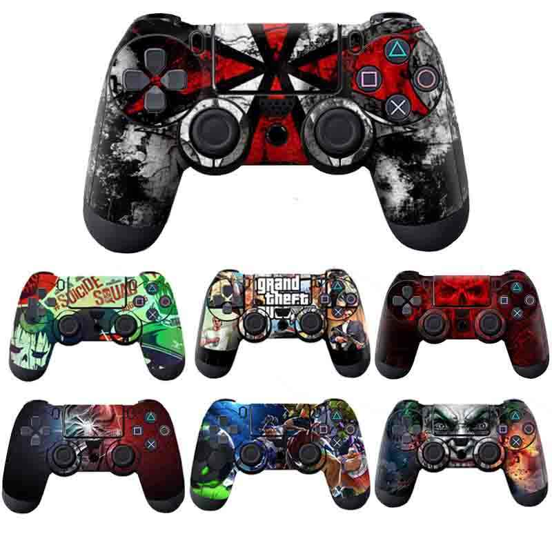 Vinyl Skins for PS4 Controller Sticker Decal Stickers for Playstation4 Gamepad Cover For PS4 Control For PS4 Slim Skin Sticker